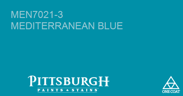 Paint Color Mediterranean Blue