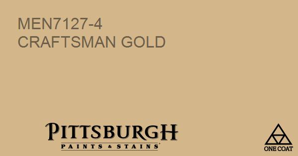 Paint Color Craftsman Gold
